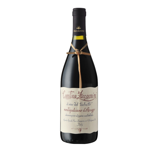 Zaccagnini Tralcetto Montepulciano 19 ザッカニーニモンテプルチアーノ